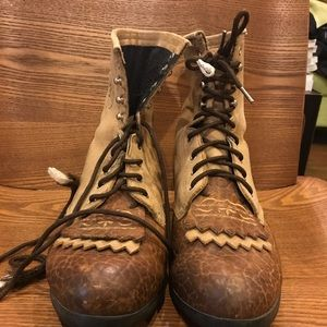 Ariat Heritage Lacer Boots Vintage